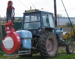 Tractor Mounted Gun
